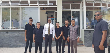 Chine Maldives New President Mr Solihu Visit Client'S Celeste Hotel fournisseur
