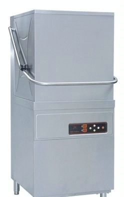 Upright Stainless Steel Commercial Dishwasher Machine XWJ-2A , 705x830x1500mm